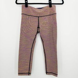 Lululemon Wunder Under Crops Wee are from Space